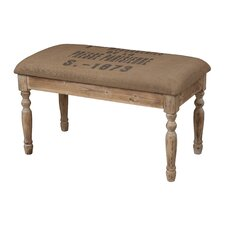 <strong>Sterling Industries</strong> Presse Parisienne Wooden Covered Bench Seat