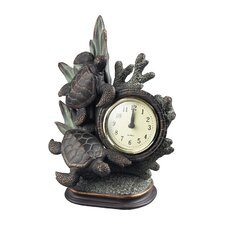 <strong>Sterling Industries</strong> Swimming Turtle Clock