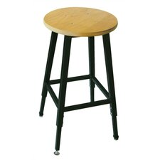 <strong>Ironwood</strong> Height Adjustable Stool with Footring
