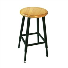 <strong>Ironwood</strong> Stool with Footring