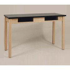 <strong>Ironwood</strong> Rectangular Oak Frame Table