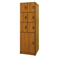 <strong>Ironwood</strong> Solid Melamine Door Music Storage: 7 Compartments