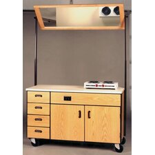 4000 Series Instructor Mobile Cabinet Mirror