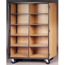4000 Series Cubicle Storage Mobile Cabinet