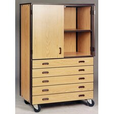<strong>Ironwood</strong> 4000 Series Door/Drawer Storage Mobile Cabinet