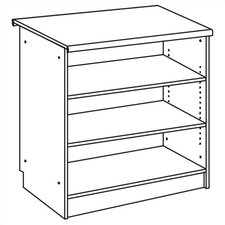 "Vision Series 38"" Bookcase"