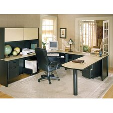 <strong>Ironwood</strong> Modular U-shape Executive Desk Office Suite