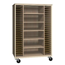4000 Series Music Storage Mobile Cabinet