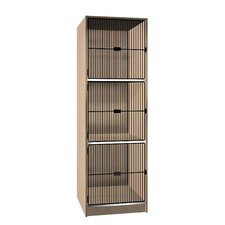 <strong>Ironwood</strong> Grill Door Music Storage: 3 Equal Compartments