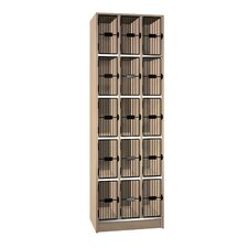 Grill Door Music Storage: 15 Equal Compartments