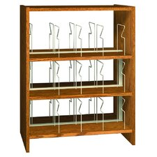 Glacier Double Face Picture Bookcase