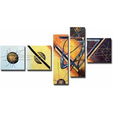 5 Piece 'Swag Surfers' Canvas Art Set