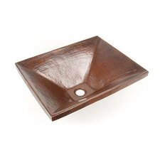 "<strong>D'Vontz</strong> Copper Bathroom Sinks 20"" x 16"""