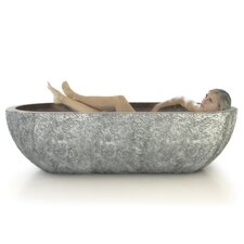 "<strong>D'Vontz</strong> Etna Natural Stone 73"" x 36"" Bathtub"