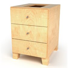 <strong>D'Vontz</strong> MDV Modular Cabinetry 3 Drawer Drawer Base Footed Cabinet