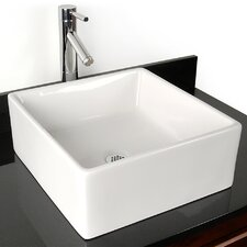 <strong>D'Vontz</strong> Grenada China Vessel Bathroom Sink