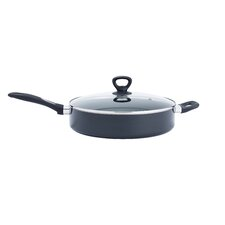 "Get-A-Grip 12"" Non-Stick Skillet with Lid"