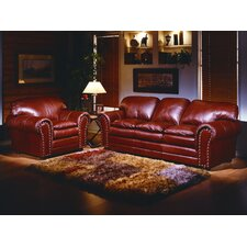 Torre 4 Seat Leather Living Room Set