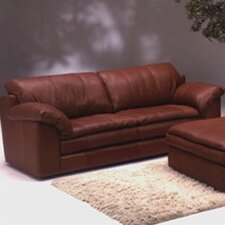 <strong>Omnia Furniture</strong> Encino Leather Sofa