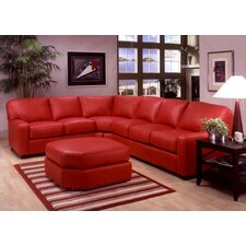 <strong>Omnia Furniture</strong> Albany Leather Sectional