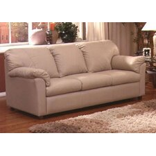 <strong>Omnia Furniture</strong> Tahoe Leather Full Sleeper Sofa