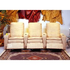 <strong>Omnia Furniture</strong> Broadway Home Theater Seating (Row of 3)