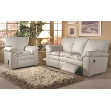 <strong>Omnia Furniture</strong> El Dorado Leather Sleeper Sofa Living Room Set