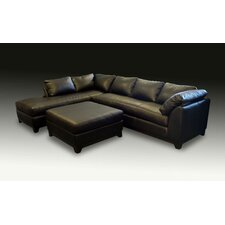 <strong>Omnia Furniture</strong> Villa Leather Sectional