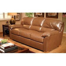 <strong>Omnia Furniture</strong> Cedar Heights Leather Loveseat