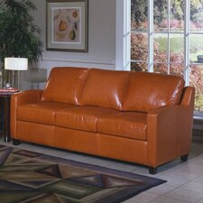 <strong>Omnia Furniture</strong> Chelsea Deco Leather Sofa