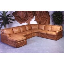 <strong>Omnia Furniture</strong> Hacienda Leather Sectional