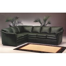 <strong>Omnia Furniture</strong> Uptown Leather Sectional