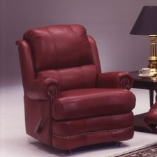 <strong>Omnia Furniture</strong> Morgan Leather Recliner