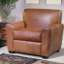 <strong>Omnia Furniture</strong> Jackson Leather Chair