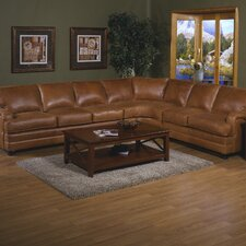 <strong>Omnia Furniture</strong> Pantera Leather Sectional