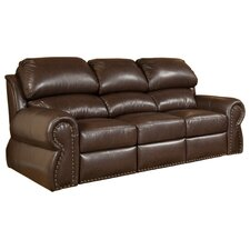 Cordova Leather Full Sleeper Sofa