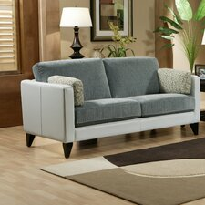 <strong>Omnia Furniture</strong> Bradford Leather Loveseat