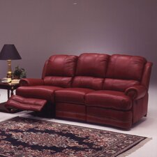 Morgan Leather Reclining Loveseat