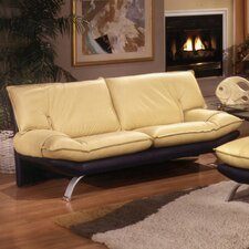 <strong>Omnia Furniture</strong> Princeton Leather Loveseat