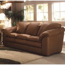 <strong>Omnia Furniture</strong> Oregon Leather Loveseat