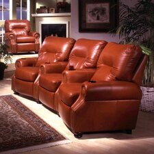 <strong>Omnia Furniture</strong> Impala Home Theater Seating (Row of 3)