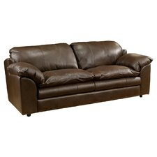 Encino Leather Loveseat
