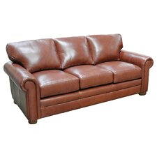 <strong>Omnia Furniture</strong> Georgia Leather Sofa