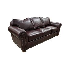 <strong>Omnia Furniture</strong> Monte Carlo Leather Sofa