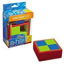 A-ha! Square Fit Brainteasers