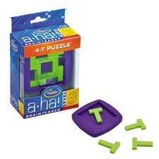A-ha! 4 T Puzzle Brainteasers
