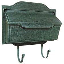 Contemporary Horizontal Wall Mounted Mailbox