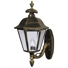 <strong>Special Lite Products</strong> Chesapeake Bottom Mount-Short Outdoor Wall Lantern