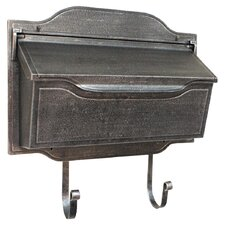 <strong>Special Lite Products</strong> Contemporary Horizontal Wall Mounted Mailbox
