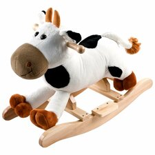 <strong>Happy Trails</strong> Plush Connie Rocking Cow